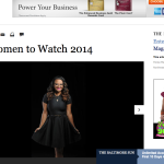 The Sun Magazine names Sheri Booker one of the top 50 Women to Watch